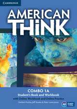 American Think Level 1 Combo A with Online Workbook and Online Practice