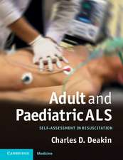 Adult and Paediatric ALS: Self-assessment in Resuscitation