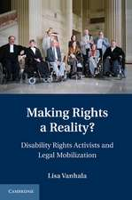 Making Rights a Reality?: Disability Rights Activists and Legal Mobilization