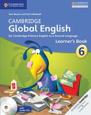 Cambridge Global English Stage 6 Learner's Book with Audio CD: for Cambridge Primary English as a Second Language
