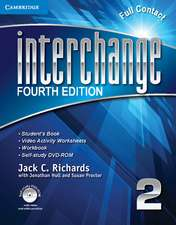 Interchange Level 2 Full Contact with Self-study DVD-ROM