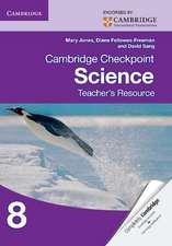 Cambridge Checkpoint Science Teacher's Resource 8