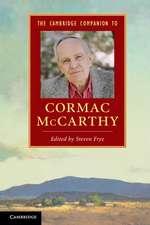 The Cambridge Companion to Cormac McCarthy