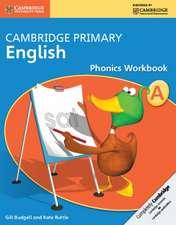 Cambridge Primary English Phonics Workbook A