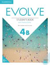 Evolve Level 4B Student's Book with Practice Extra