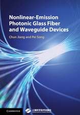 Nonlinear-Emission Photonic Glass Fiber and Waveguide Devices