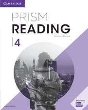 Prism Reading Level 4 Teacher's Manual