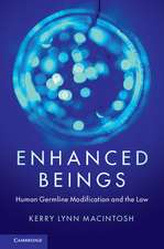Enhanced Beings  : Human Germline Modification and the Law