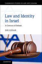 Law and Identity in Israel