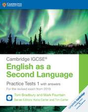 Cambridge IGCSE® English as a Second Language Practice Tests 1 with Answers and Audio CDs (2): For the Revised Exam from 2019