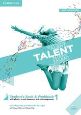 Talent Level 1 Student's Book/Workbook Combo with eBook