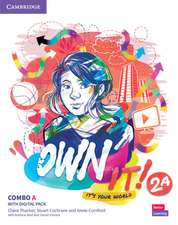 Own it! Level 2 Combo A Student's Book and Workbook with Practice Extra