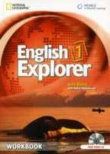 English Explorer 1: Workbook with Audio CD