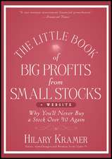 The Little Book of Big Profits from Small Stocks + Website: Why You′ll Never Buy a Stock Over $10 Again