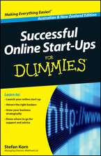 Successful Online Start–Ups For Dummies