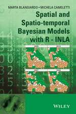 Spatial and Spatio–temporal Bayesian Models with R – INLA