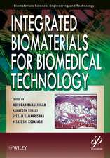 Integrated Biomaterials for Biomedical Technology