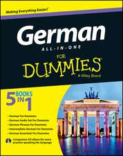 German All–in–One For Dummies