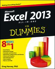 Excel 2013 All–in–One For Dummies
