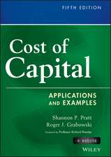 Cost of Capital: Applications and Examples + Website