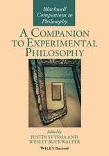 A Companion to Experimental Philosophy
