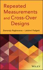 Repeated Measurements and Cross–Over Designs