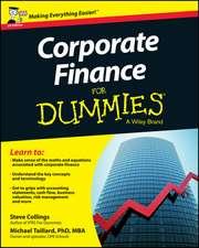 Corporate Finance For Dummies – UK