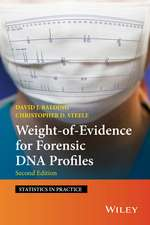 Weight–of–Evidence for Forensic DNA Profiles