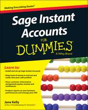 Sage Instant Accounts For Dummies