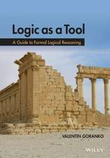 Logic as a Tool: A Guide to Formal Logical Reasoning
