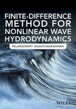 Finite-Difference Method for Nonlinear Wave Hydrodynamics