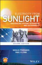 Electricity from Sunlight: Photovoltaic–Systems Integration and Sustainability