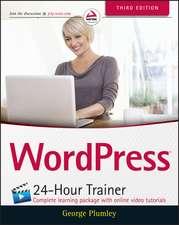 WordPress 24–Hour Trainer