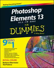 Photoshop Elements 13 All-In-One for Dummies:  Fundamentals and Emerging Applications