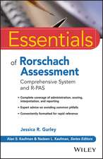 Essentials of Rorschach Assessment: Comprehensive System and R–PAS