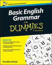 Basic English Grammar For Dummies – UK