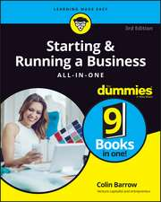 Starting and Running a Business All–in–One For Dummies