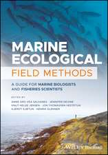 Marine Ecological Field Methods: A Guide for Marine Biologists and Fisheries Scientists