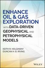 Enhance Oil and Gas Exploration with Data–Driven Geophysical and Petrophysical Models