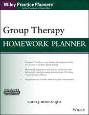 Group Therapy Homework Planner: with Download eBook