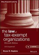 The Law of Tax–Exempt Organizations, 2016 Supplement: + Website