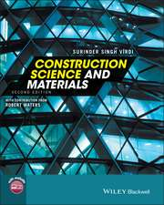 Construction Science and Materials