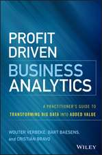 Profit Driven Business Analytics: A Practitioner′s Guide to Transforming Big Data into Added Value