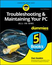 Troubleshooting & Maintaining PCs Aio for Dummies