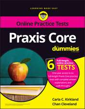 Praxis Core For Dummies with Online Practice Tests