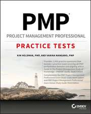 PMP Project Management Professional Exam Practice Tests