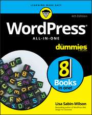 WordPress All–in–One For Dummies