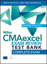 Wiley CMAexcel Learning System Exam Review 2020 Test Bank: Complete Exam (2–year access)