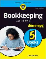 Bookkeeping All–in–One For Dummies