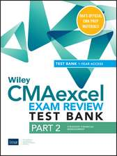 Wiley CMAexcel Learning System Exam Review 2020: Part 2, Strategic Financial Management(1–year access)